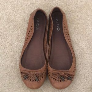 Aldo brown slip on
